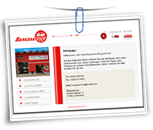 Vorschaubild Website Bergeservice