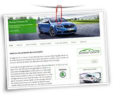 Vorschaubild Website Auto-Gentz