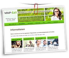 Vorschaubild Website Agentur MMP-Call