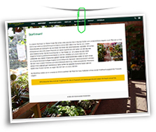 Vorschaubild Website Gartencenter Zimmermann