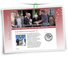 Vorschaubild Website Hochzeitstauben-HH