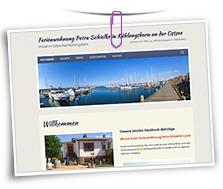 Vorschaubild Website Ferienwohnung Schielke
