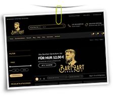 Vorschaubild Website BartZart